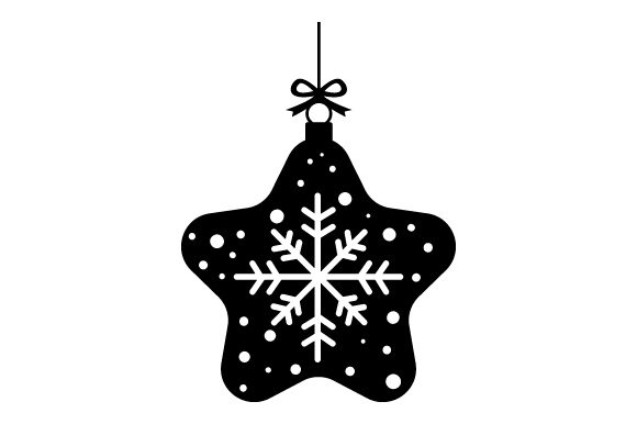 Download Free Christmas Bauble Svg Cut File By Creative Fabrica Crafts for Cricut Explore, Silhouette and other cutting machines.