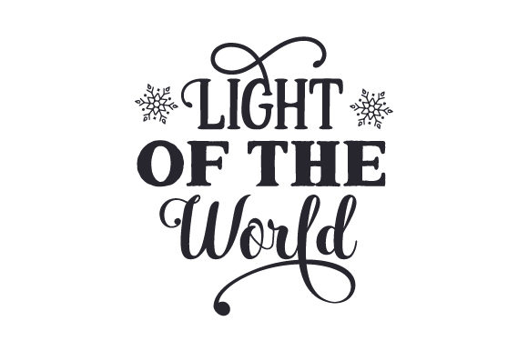 Download Free Light Of The World Svg Cut File By Creative Fabrica Crafts for Cricut Explore, Silhouette and other cutting machines.
