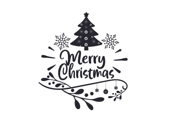 Download Free Merry Christmas Svg Cut File By Creative Fabrica Crafts for Cricut Explore, Silhouette and other cutting machines.