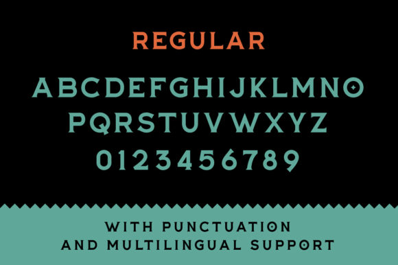 Print on Demand: The Buntro Display Font By ironbirdcreative - Image 7