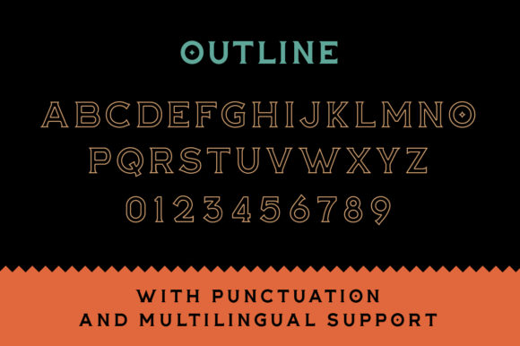 Print on Demand: The Buntro Display Font By ironbirdcreative - Image 8