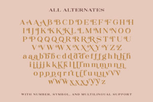 Print on Demand: The Rankings Serif Font By letterhend 9