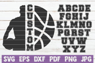Basketball Custom Frame Graphic By MintyMarshmallows