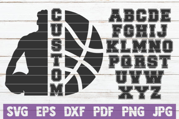 Basketball Custom Frame Graphic Graphic Templates By MintyMarshmallows