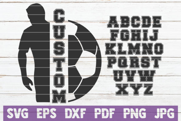 Soccer Custom Frame Graphic Graphic Templates By MintyMarshmallows