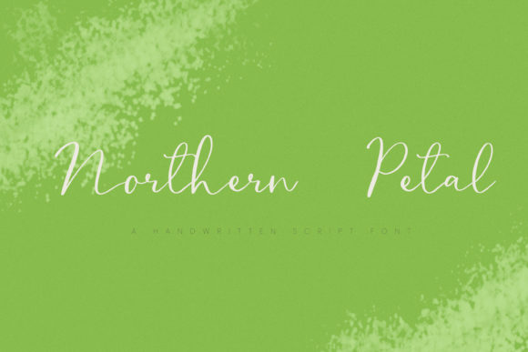 Print on Demand: Northern Petal Script & Handwritten Font By Primafox Design