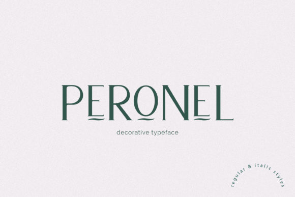 Print on Demand: Peronel Serif Font By Primafox Design