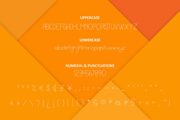 Print on Demand: Lamberto Thin Display Font By ibeydesign - Image 3