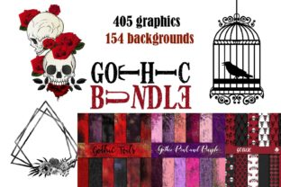 Gothic BUNDLE Graphic By fantasycliparts