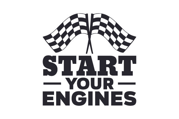 Start Your Engines Craft Design By Creative Fabrica Crafts