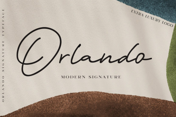 Print on Demand: Orlando Script & Handwritten Font By lickermelody