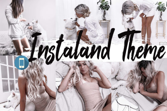 5 Instaland Mobile Lightroom Presets Graphic By 3Motional