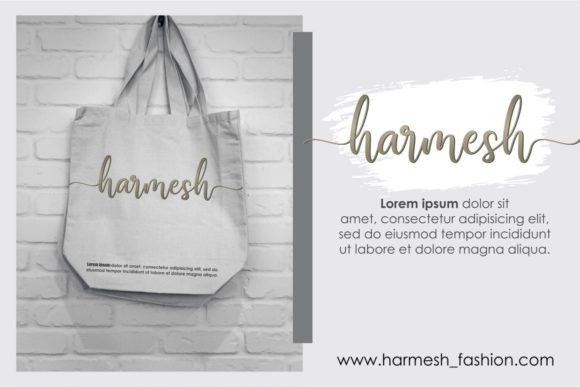 Print on Demand: Manthine Script & Handwritten Font By Ditoollis Project - Image 3