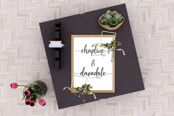 Print on Demand: Manthine Script & Handwritten Font By Ditoollis Project - Image 4