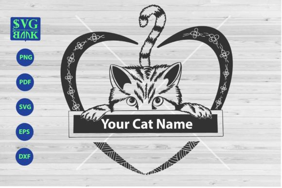 Custom Name for Your Cat Svg Graphic By svgBank