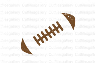 Download Free Distressed Football Outline Svg Graphic By Cutfilesgallery SVG Cut Files
