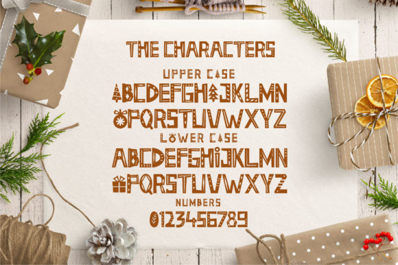 Holiday Season Font By Caoca Studios Image 2