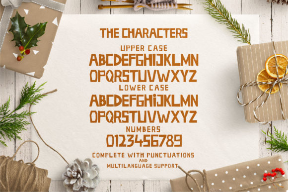 Holiday Season Font By Caoca Studios Image 3
