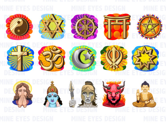 Download Free Spiritual And Religious Clipart Graphic By Mine Eyes Design SVG Cut Files
