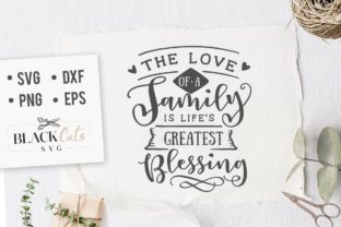 Download Free The Love Of A Family Is Svg Graphic By Blackcatsmedia Creative SVG Cut Files