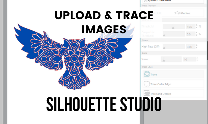 Download Free How To Upload And Trace Images With Silhouette Studio Creative for Cricut Explore, Silhouette and other cutting machines.