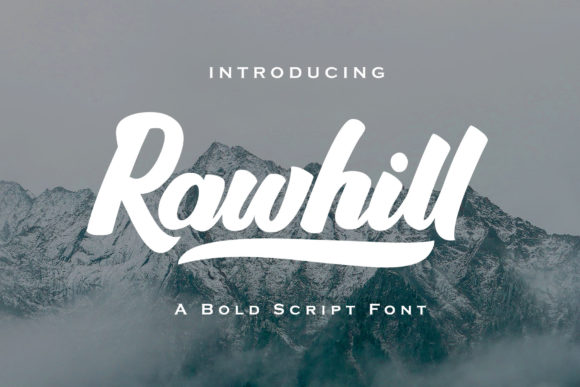 Print on Demand: Rawhill Script & Handwritten Font By dmletter31 - Image 1