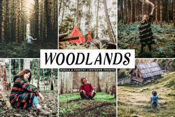 Print on Demand: Woodlands Lightroom Presets Pack Graphic Actions & Presets By Creative Tacos