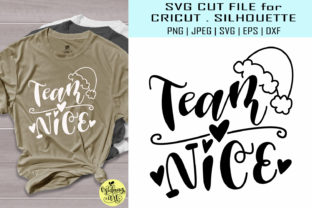 Download Free Team Nice Christmas Graphic By Midmagart Creative Fabrica for Cricut Explore, Silhouette and other cutting machines.