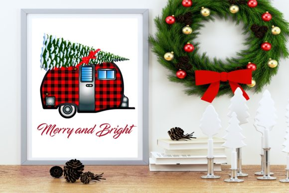 Print on Demand: 24 Christmas Plaid Lumberjack PNG Files Graphic Graphic Templates By Scrapbook Attic Studio - Image 6