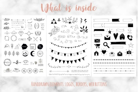 Handy Blog Elements Graphic By switzershop Image 4