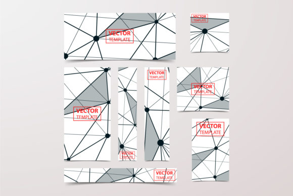 Low Poly Banner Graphic Graphic Templates By Manuchi