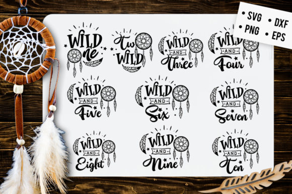 Wild One  Graphic Crafts By BlackCatsMedia