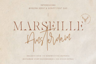 Marseille & Amsterdam Duo Serif Font By SilverStag