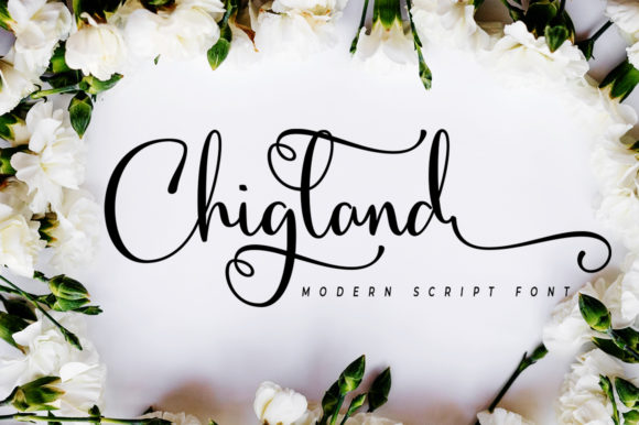 Chigland Font By akrtype Image 1