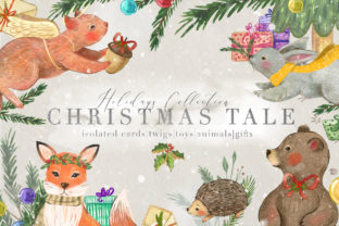 Christmas Tale Graphic Collection Graphic By NassyArt