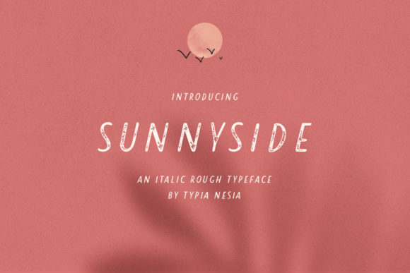 Print on Demand: Sunnyside Sans Serif Font By Typia Nesia