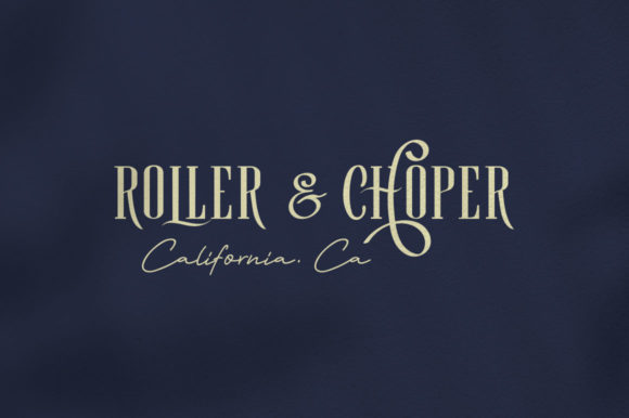 Print on Demand: Roller Coaster Serif Font By lickermelody - Image 10