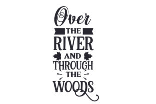 Over the River and Through the Woods Craft Design By Creative Fabrica Crafts