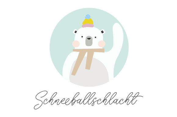 Schneeballschlacht Germany Craft Cut File By Creative Fabrica Crafts