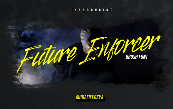 Print on Demand: Future Enforcer Display Font By Muhammad Ersya - Image 1