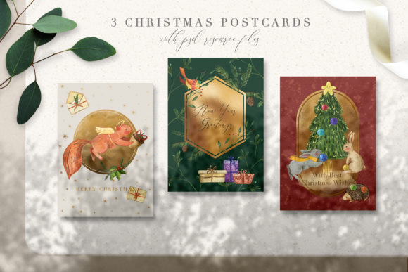 Christmas Tale Graphic Collection Graphic By NassyArt Image 2