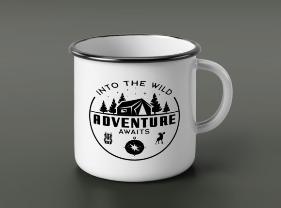 Download Free Retro Camp T Shirt Design Logo Adventure Graphic By for Cricut Explore, Silhouette and other cutting machines.