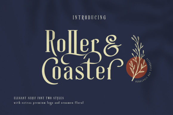 Print on Demand: Roller Coaster Serif Font By lickermelody - Image 2