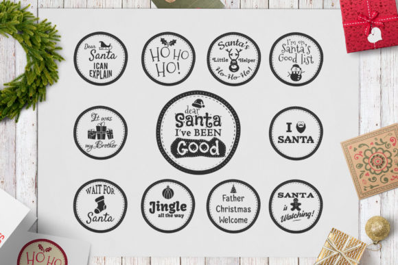 Download Free Funny Christmas Overlays Svg Bundle Graphic By Jeksongraphics SVG Cut Files