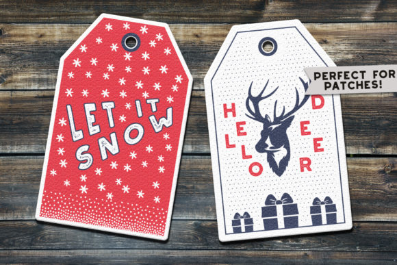 Christmas Tags Bundle Vector Badges Graphic Graphic Templates By JeksonGraphics - Image 2