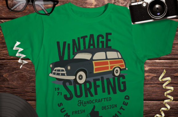 Download Free Surfing Life Logo Surf Retro Emblem Grafico Por Jeksongraphics for Cricut Explore, Silhouette and other cutting machines.