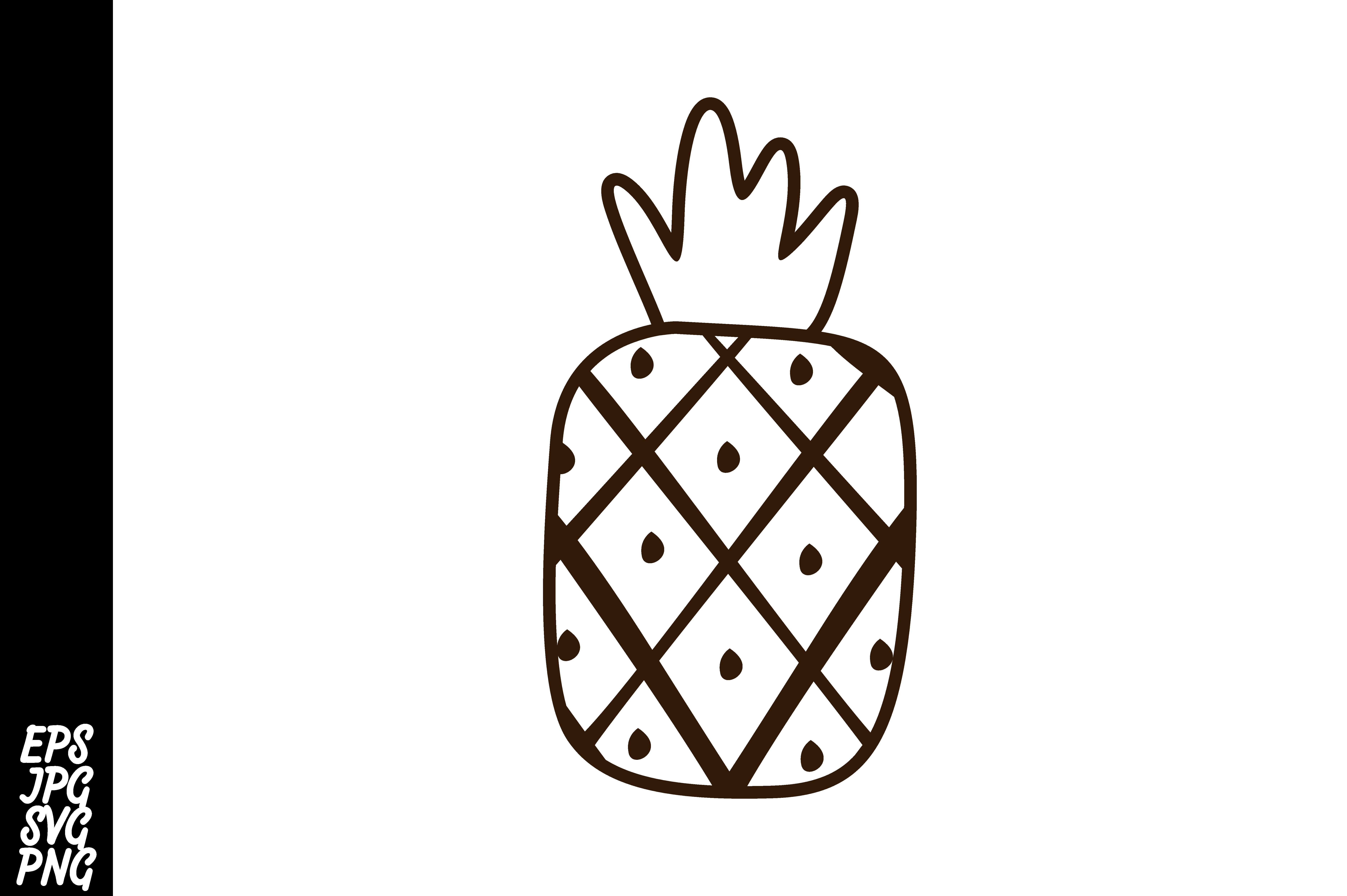 Download Free Fruit Icon Pineapple Graphic By Arief Sapta Adjie Creative for Cricut Explore, Silhouette and other cutting machines.