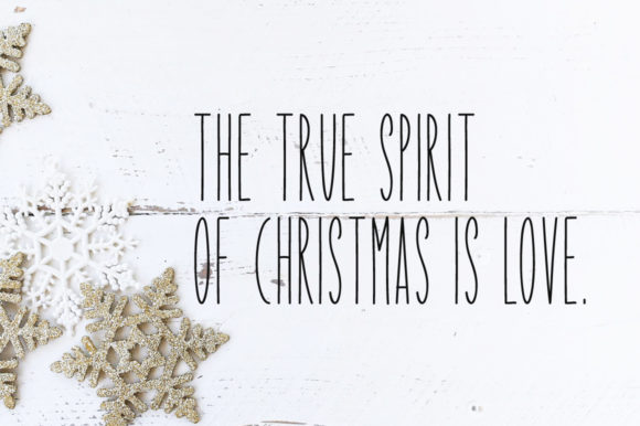 Print on Demand: Our Christmas Display Font By Instagram Fonts - Image 2