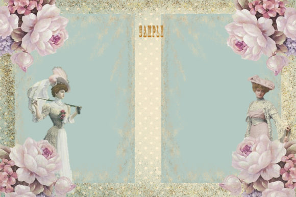 Print on Demand: Vintage Shabby Chic Full Journal Kit Graphic Crafts By The Paper Princess - Image 4
