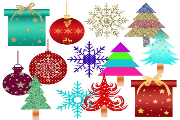 Print on Demand: 38 Christmas Gnomes Clip Art Images Graphic Illustrations By Scrapbook Attic Studio - Image 4